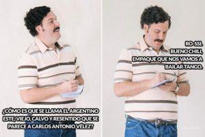 Claro que no hicieron falta los memes de Pablo Escobar.. Foto:Twitter / @javier_escobar