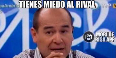 Algunos asumieron que los mensajes del periodista argentino son por temor al resultado del partido Foto:Instagram / @moriderisa