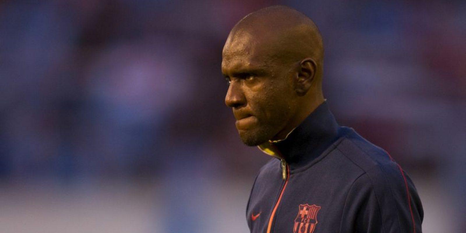 En marzo de 2011 el propio Barça fue el encargado de informar que Abidal sufría un tumor en el hígado: El mismo jugador fue al vestidor del equipo para ¡animar a sus cumpañeros! En realidad, todos estaban en shock por la noticia. Foto:Getty Images