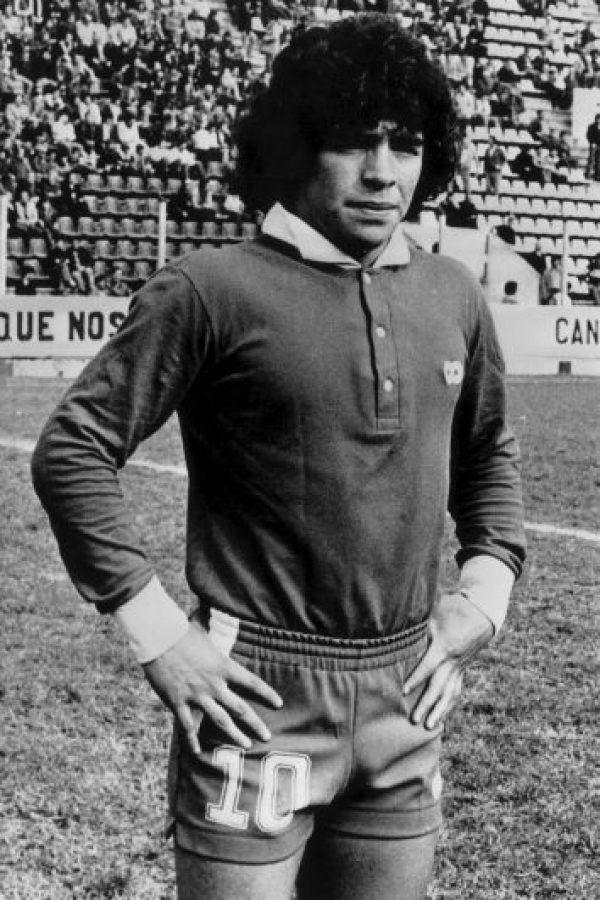 Maradona nació el 30 de octubre de 1960. Foto:Getty Images