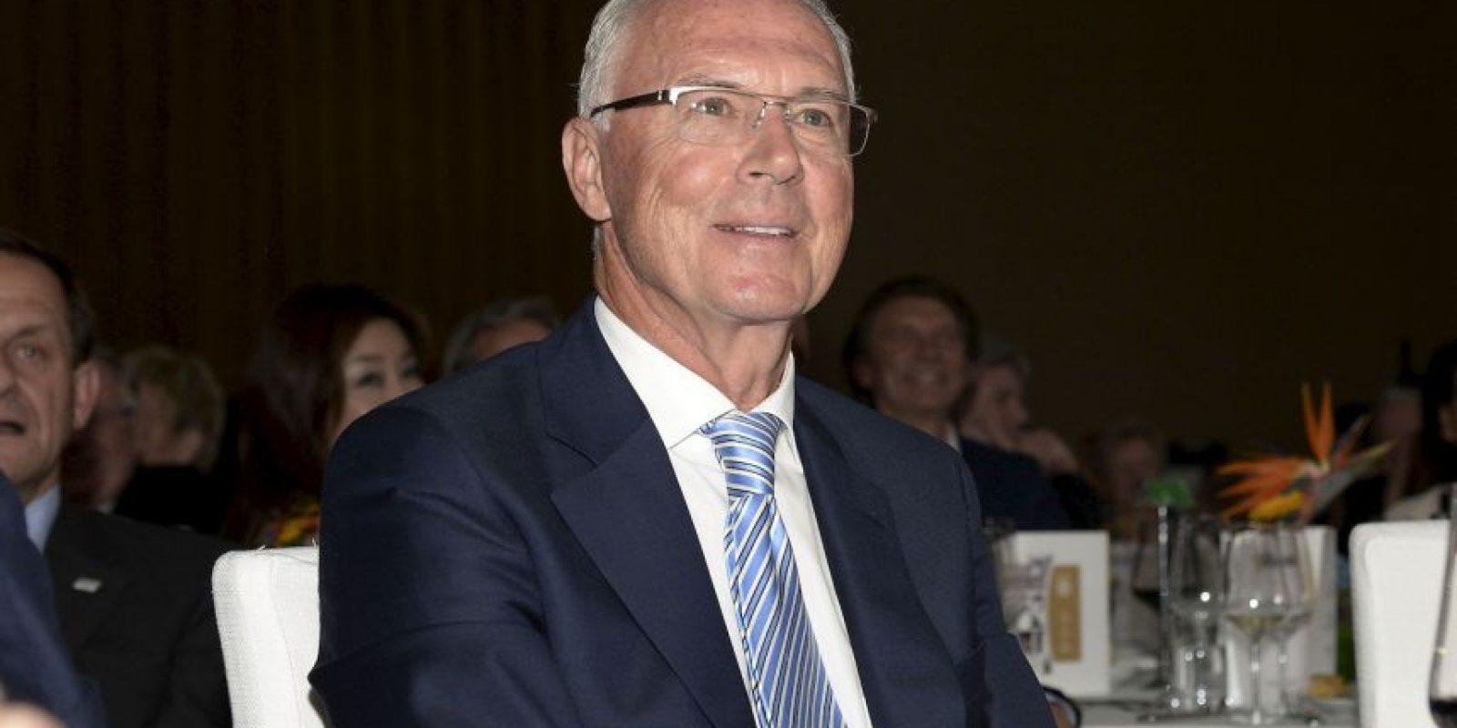 """El """"Káiser"""", símbolo del Bayern Munich, es el actual director deportivo del equipo bávaro. Foto:Getty Images"""