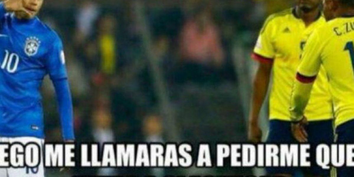 Copa América: Usuarios se burlan por el apoyo de Colombia a Brasil