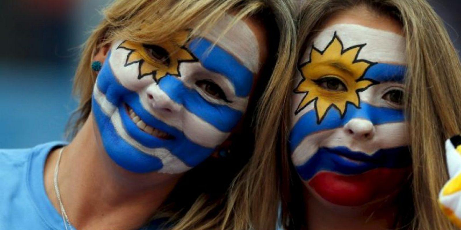 También se dieron cita hermosas uruguayas Foto:AFP