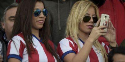 Las bellas chicas guaraníes deslumbraron Foto:AFP