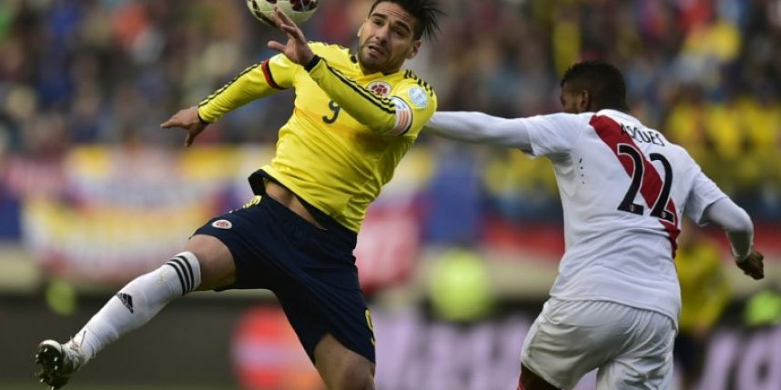 2. Radamel Falcao Foto: AFP