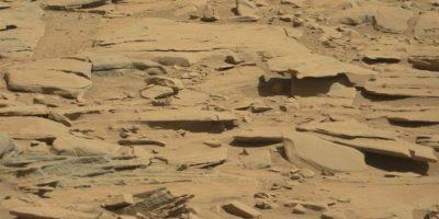 Se descubrió en agosto de 2014 Foto:NASA. Foto original en http://mars.jpl.nasa.gov/msl-raw-images/msss/00601/mcam/0601MR0025370020400768E01_DXXX.jpg