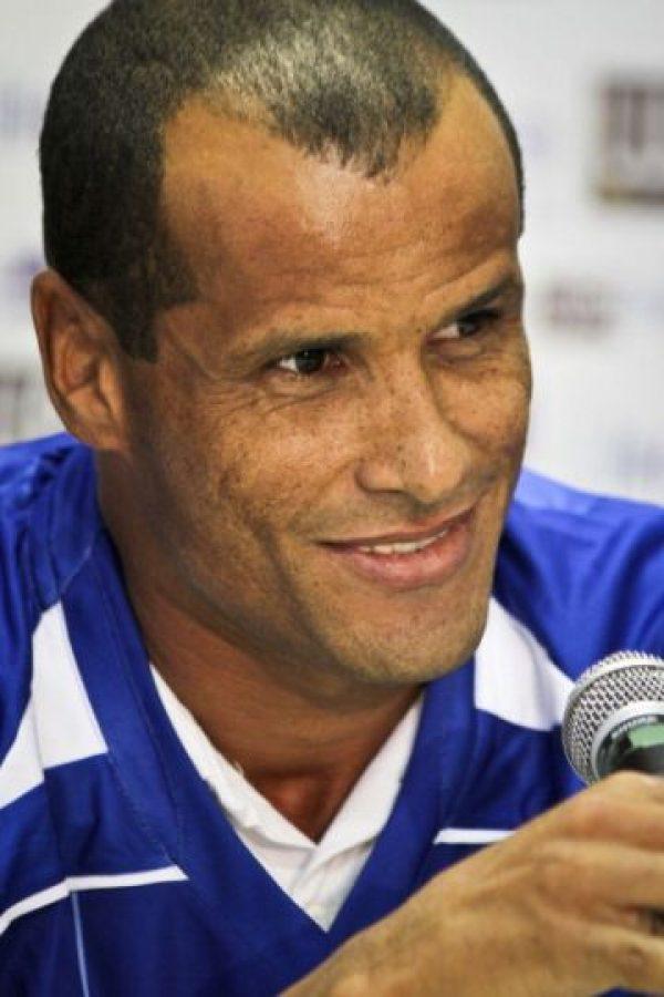 Rivaldo es recordado por ser uno de los mejores jugadores de finales de los noventa y principios de los 2000. Foto:Getty Images