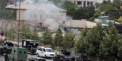 Murieron 9 personas, siete integrantes del Taliban y dos civiles Foto: AP