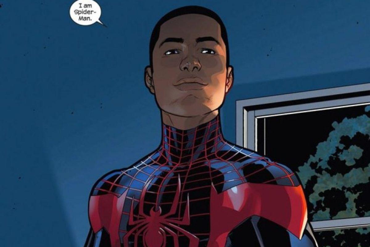 """Miles"" sustituirá al fallecido ""Peter Parker"". Foto:Marvel"