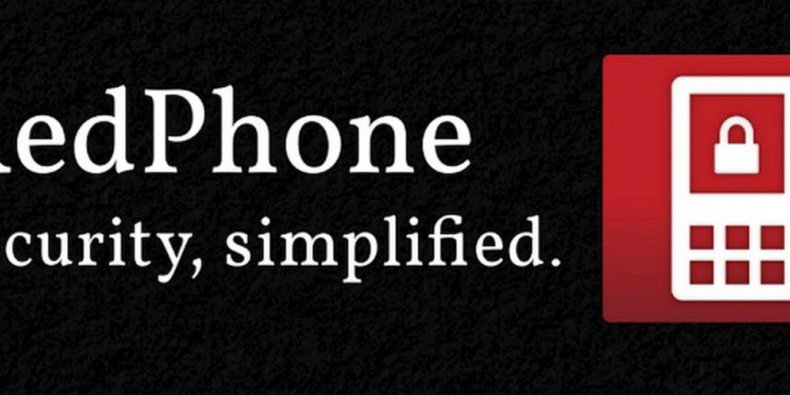 4) Red Phone – Disponible para Android. Foto:Tumblr