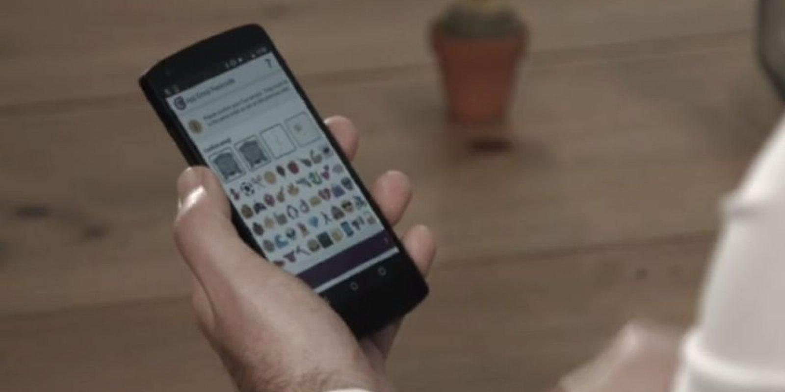 La compañía Intelligent Environments trabaja con instituciones bancarias para que usuarios utilicen emojis en lugar de sus NIP's al ingresar a su cuenta debido a que, aseguran, la combinación de estos símbolos es más difícil de hackear. Foto:Intelligent Environments