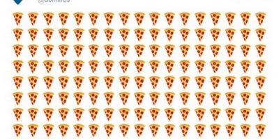 6) Para pedir pizza. Foto:Twitter