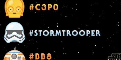 Durante el Día de Star Wars, fanáticos podían utilizar emojis especiales sobre la guerra de las galaxias. Foto:Twitter
