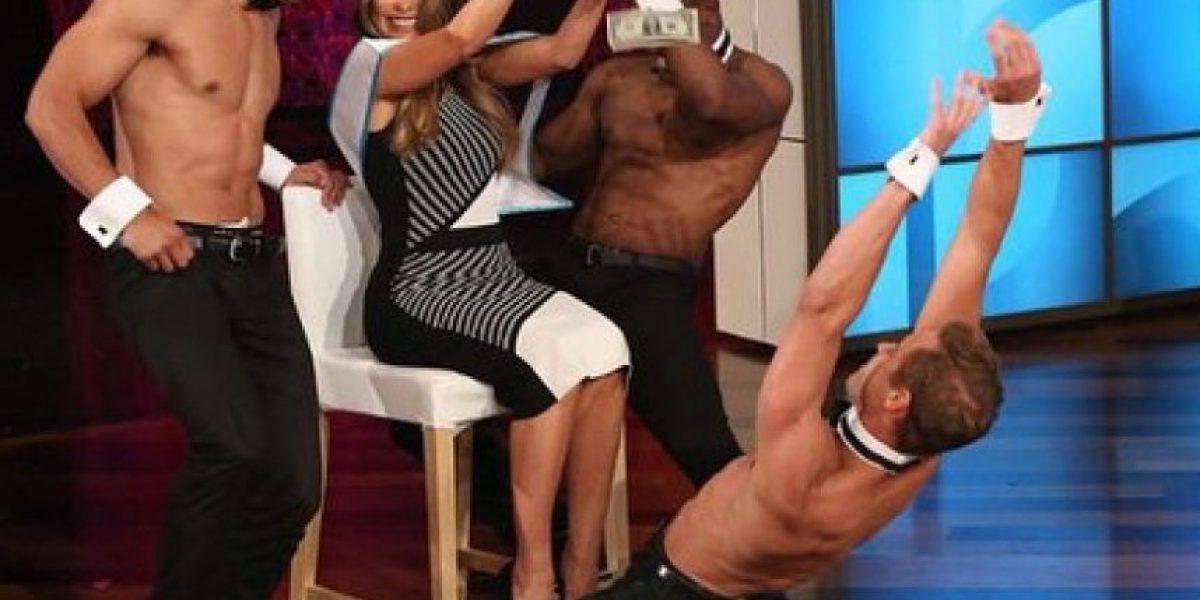 Sofìa Vergara tiene un stripper en su casa