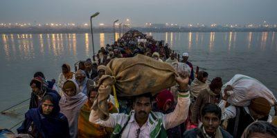 18. Allahabad, en India, 88 ug/m3 promedio al año. Foto:Getty Images
