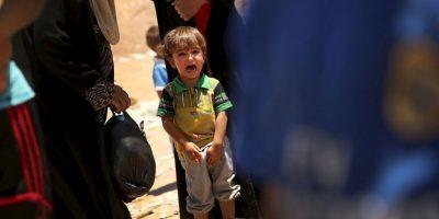 2. Según el Observatorio Sirio para los Derechos Humanos, dos mil civiles han comenzado a regresar a Tal Abyad, Siria, esto luego de que se volviera a abrir el paso fronterizo que une la ciudad de Tal Abyad con Turquía. Foto:Getty Images