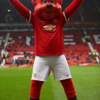 "Bueno, Manchester United no fue más allá e hizo de este ""diablito"" su mascota. Foto:Getty Images"