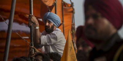 14. Amritsar, en India, con 92 ug/m3 promedio al año. Foto:Getty Images