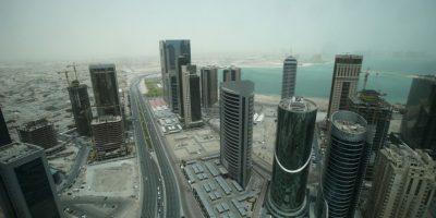 12. Doha, en Qatar, con 93 ug/m3 promedio al año. Foto:Getty Images