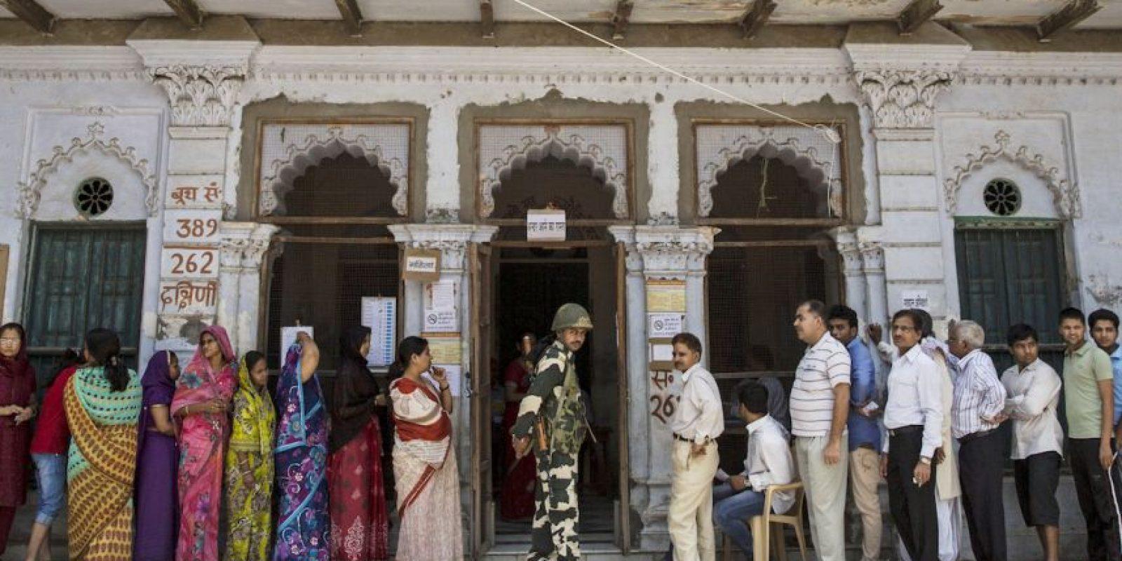 3. Gwalior, en India, con 144 ug/m3 promedio al año. Foto:Getty Images
