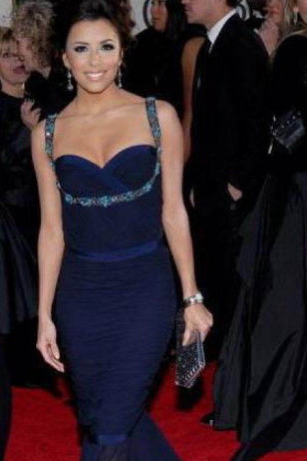 Kim le ha copiado hasta a Eva Longoria. Foto:vía Getty Images