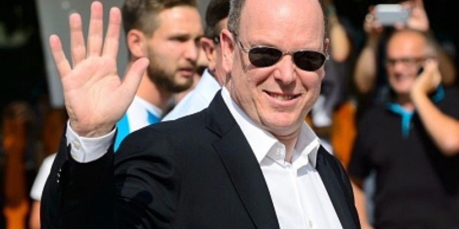 Si no saben quién es el tío de Andrea, se los presentamos: es el príncipe Alberto de Mónaco. Foto:vía Getty Images