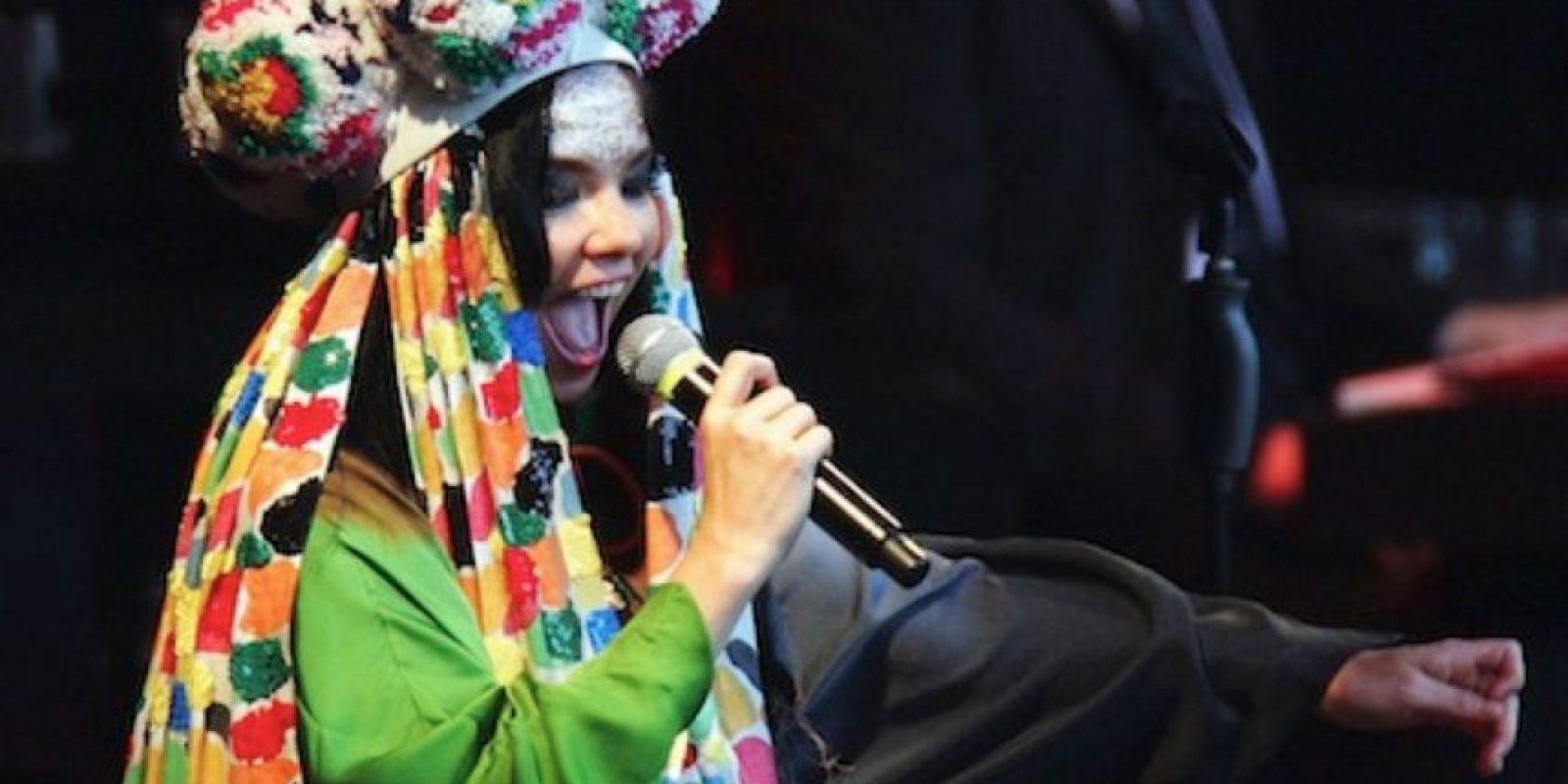 Bueno, Björk es Björk. Foto:vía Getty Images