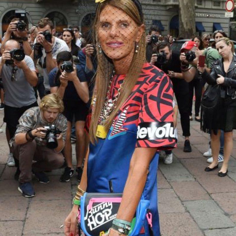 Chiara Ferragni, fashionista. Ha llevado cosas más polémicas y no le importa. Foto:vía Getty Images