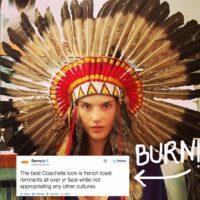 Las modelos de Victoria´s Secret con penachos apaches porque están de moda (y así las criticaron). Foto:vía Getty Images