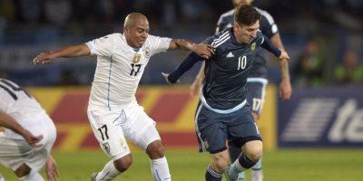"""""""Ojalá que por fin ganen algo y se calmen"""" dijo Egidio Arévalo después de que Uruguay fuera abucheado en su partido contra contra Jamaica Foto:AFP"""