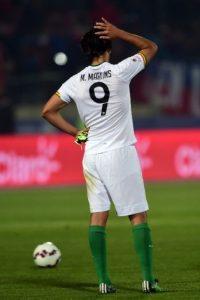Marcelo Martins, delantero de Bolivia Foto:AFP