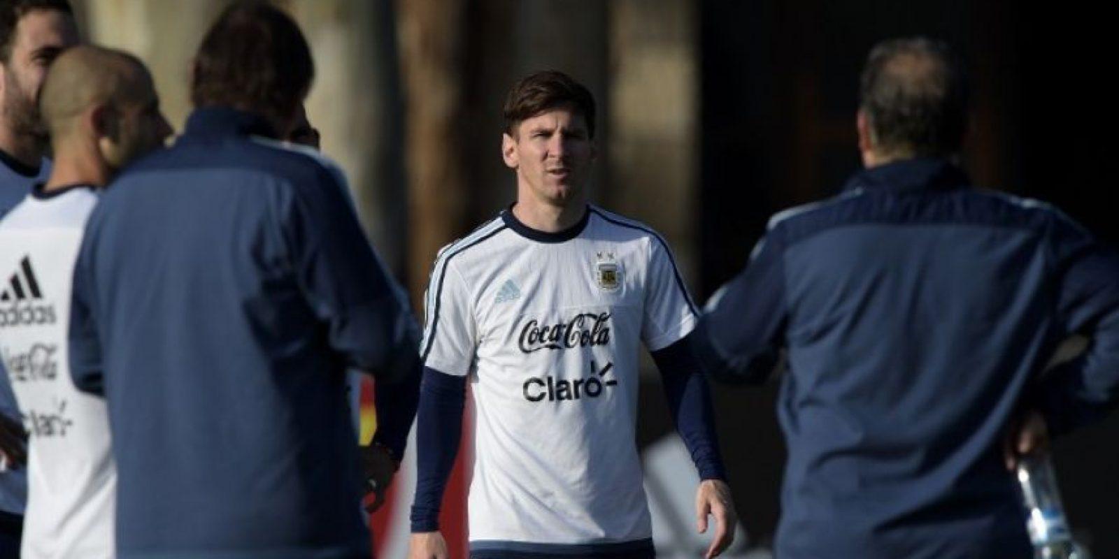 """""""Llegamos a la Copa América en mejor momento que en el Mundial"""" Foto:AFP"""