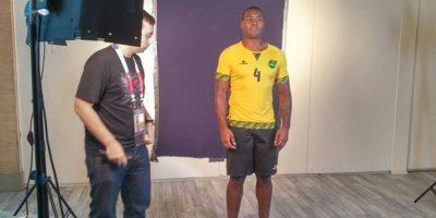 De 31 años, Wes Morgan juega en el Leicester City de la Premier League. Foto:Vía facebook.com/JamaicaFootballFederation