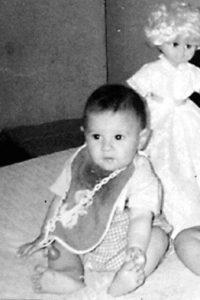 Esta es la primera foto conocida de Lionel Messi. Nació el 24 de junio de 1987. Foto:Getty Images