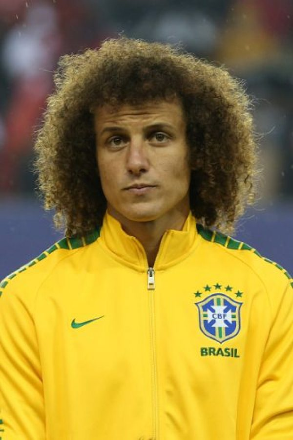 DEFENSAS: David Luiz (Brasil) Foto: Getty Images