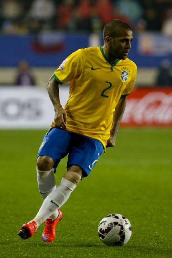 Dani Alves (Brasil) Foto: Getty Images
