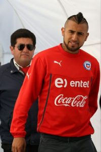 MEDIOS: Arturo Vidal (Chile) Foto: Getty Images