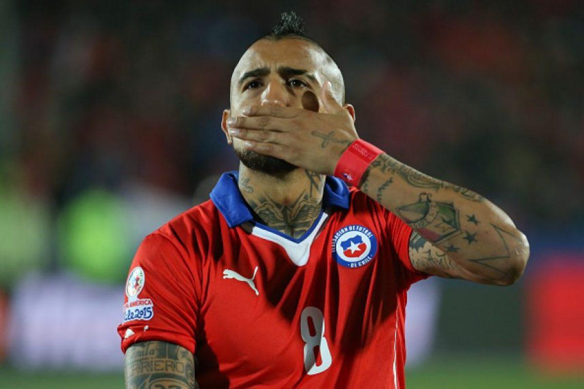 3. Arturo Vidal (Chile) Foto:Getty Images
