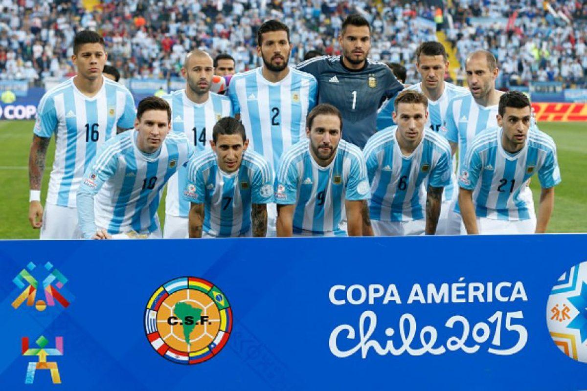 En Uruguay 1995, Bolivia 1997, Paraguay 1999 y Argentina 2011 se quedó en cuartos de final. Foto:Getty Images