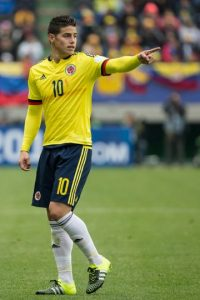 James Rodríguez (Colombia) Foto: Getty Images