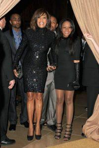 Bobbi es hija de la fallecida cantante Whitney Houston. Foto:Getty Images