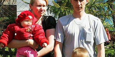 Alexander Lyamikn y su familia. Foto:Infobae.com