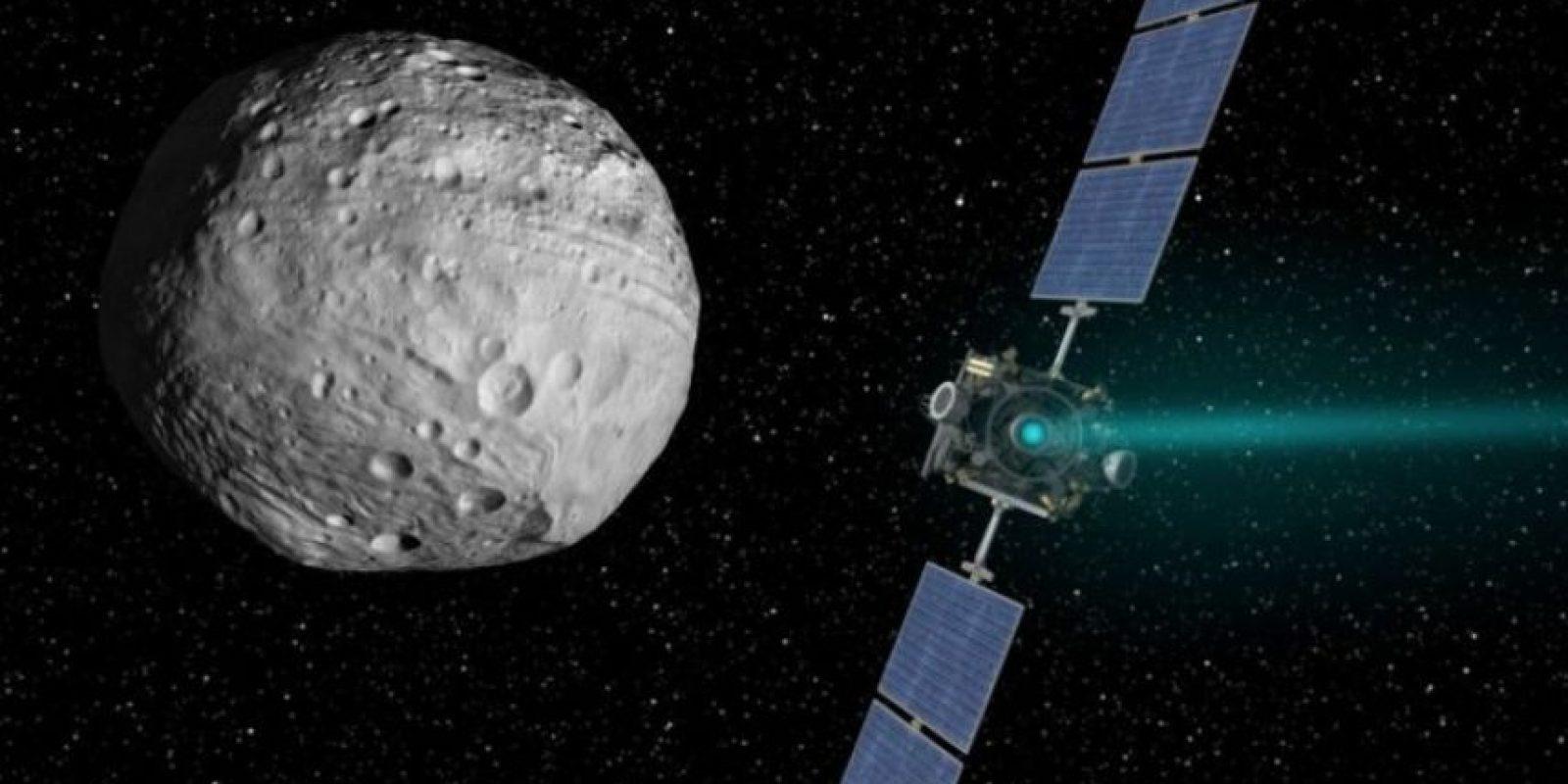 Ceres, que es el cuerpo más grande que existe entre Marte y Júpiter en el cinturón de asteroides principal, tiene un diámetro de alrededor de 950 kilómetros Foto:NASA