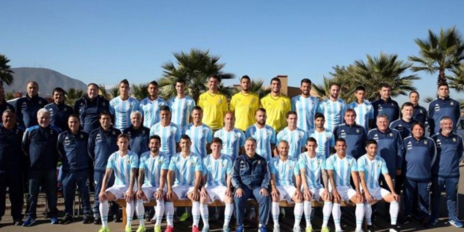 4) Argentina. Foto:Vía facebook.com/AFASeleccionArgentina