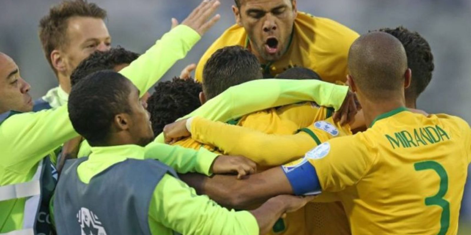 7) Brasil. Foto:Getty Images