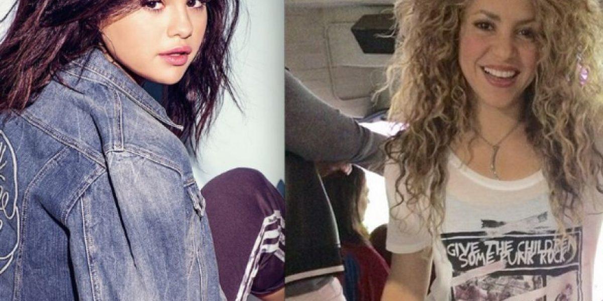 Selena Gomez imita a Shakira