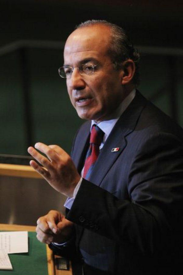 7. Felipe Calderón Foto:Getty Images