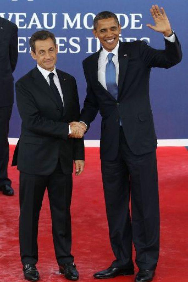 3. Nicolas Sarkozy Foto:Getty Images