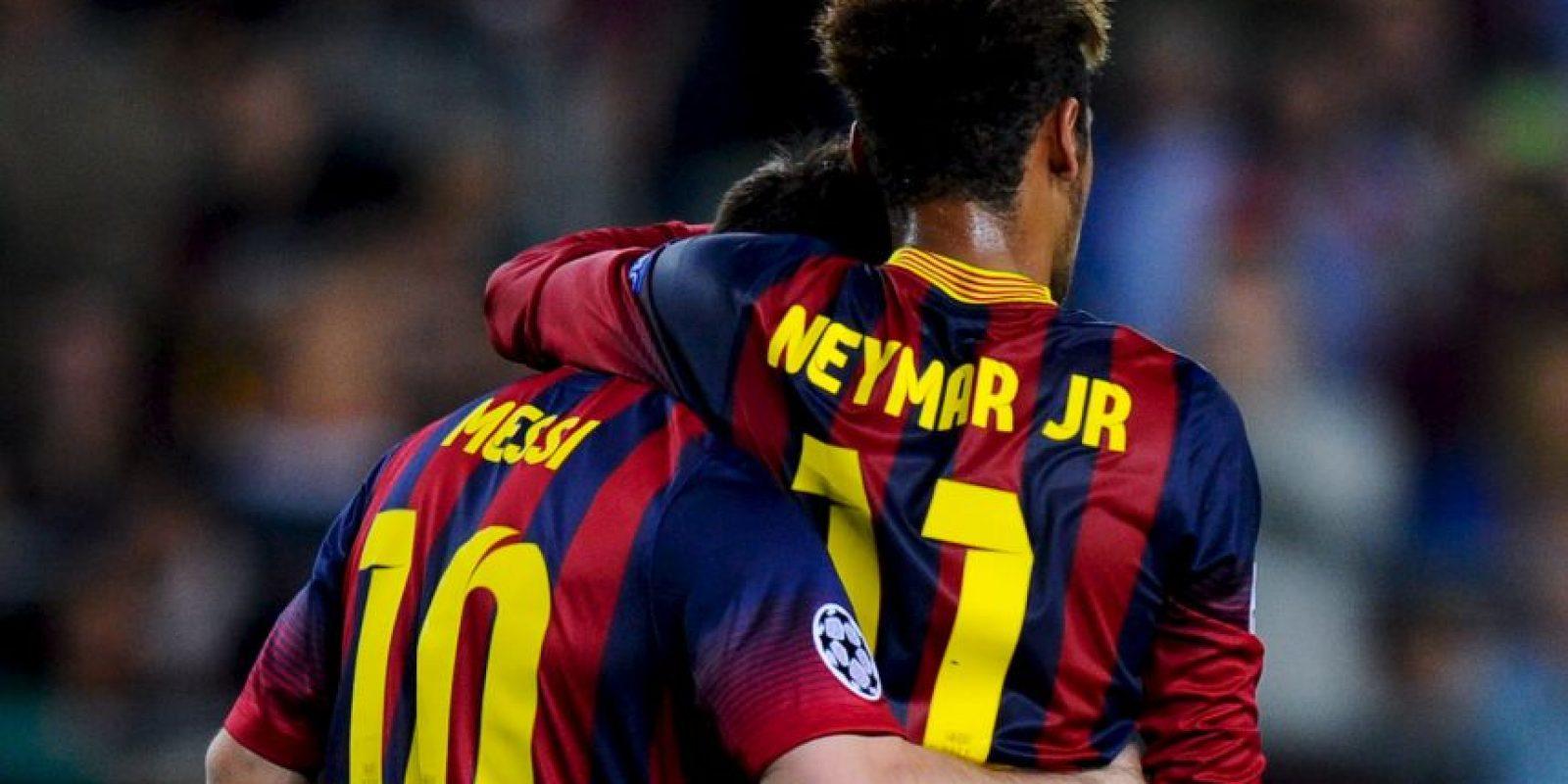 11. Fue el mentor de Neymar en Barcelona Foto:Getty Images