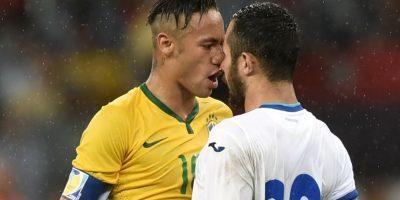 Neymar fue expulsado en el partido entre Brasil y Colombia por un balonazo a un rival. Foto:Getty Images